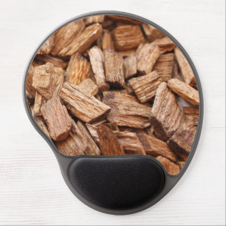 Mouse Pad De Gel Pilha de partes de madeiras secas de tamanhos