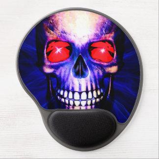 Mouse Pad De Gel Poder azul do crânio