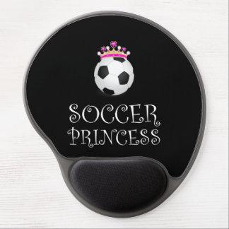 Mouse Pad De Gel Princesa do futebol