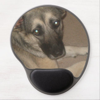 "Mouse Pad De Gel ""Puddin"" o german shepherd Mousepad"