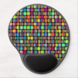 Mouse Pad De Gel Quadrados arredondados