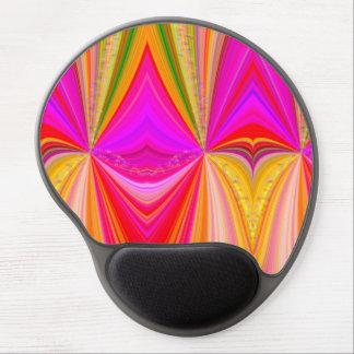Mouse Pad De Gel Redemoinho do arco-íris com estrelas