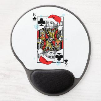 Mouse Pad De Gel Rei do Feliz Natal dos clubes
