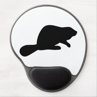 Mouse Pad De Gel Silhueta do castor