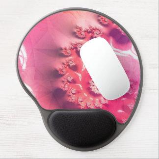 Mouse Pad De Gel Sorvete cor-de-rosa para 21 sabores de Fibonacci