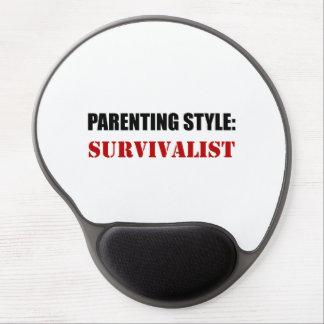 Mouse Pad De Gel Survivalist do estilo da parentalidade