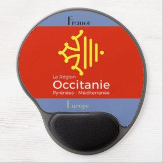 "Mouse Pad De Gel tapete de ratos ""Occitanie"" França"