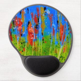 Mouse Pad De Gel Tapete do rato com espirrar-cores
