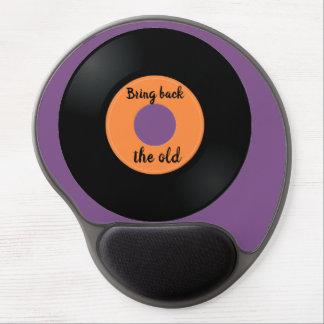 Mouse Pad De Gel Tapete do rato do gel da nostalgia