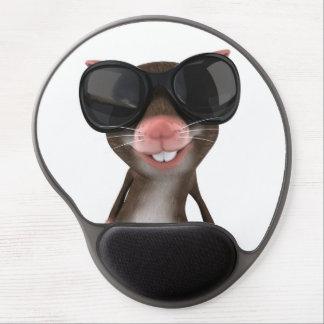 Mouse Pad De Gel Tapete do rato engraçado do gel do rato