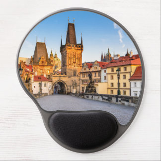 Mouse Pad De Gel Tapete do rato Praga