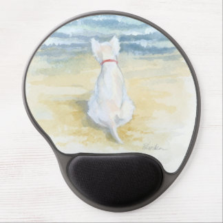 Mouse Pad De Gel Tapete do rato Wistful de Westie