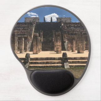 Mouse Pad De Gel Templo de Chichen Itza Warriors#2 do gel Mousepad