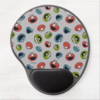 Mouse Pad De Gel Teste padrão da equipe do Sesame Street | All Star