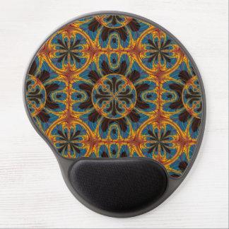 Mouse Pad De Gel Teste padrão da tapeçaria