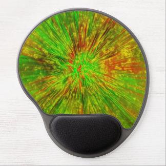 Mouse Pad De Gel Tintura verde do laço