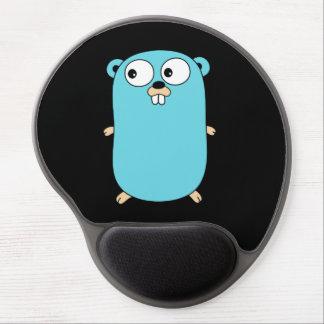 Mouse Pad De Gel Vai o cofre forte liso do pulso de MousePad do gel