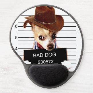 Mouse Pad De Gel vaqueiro da chihuahua - cão do xerife