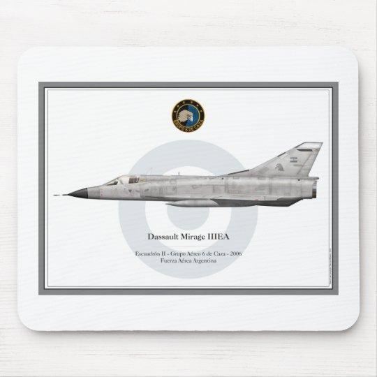 Mouse pad Mirage IIIEA - Fuerza Aérea Argentina