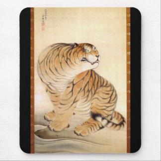 Mousepad 虎図, tigre do 源琦, Genki