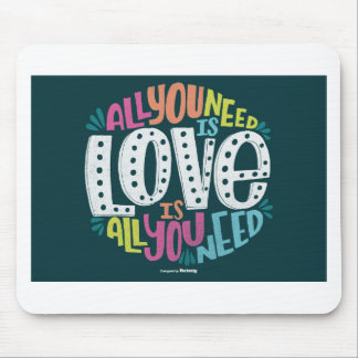 MOUSEPAD 0032-ALL-YOU-NEED-IS-LOVE-01