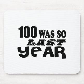 Mousepad 100 eram assim tão no ano passado design do