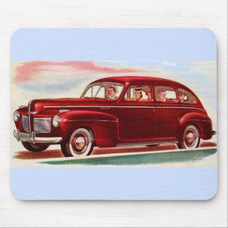 Mousepad 1941 vermelho Mercury 8
