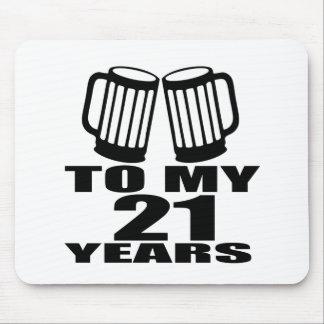 Mousepad 21 elogios a meu aniversário