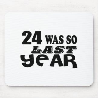 Mousepad 24 era assim tão no ano passado o design do
