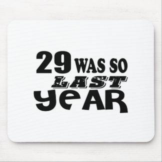 Mousepad 29 era assim tão no ano passado o design do
