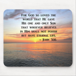 MOUSEPAD 3:16 DE JOHN DO NASCER DO SOL QUE INSPIRA A FOTO