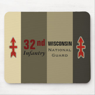 Mousepad 3ò Guarda nacional de Wisconsin da infantaria