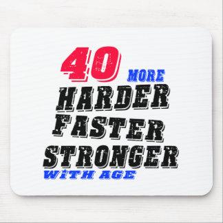 Mousepad 40 mais fortes mais rápidos mais duros com idade