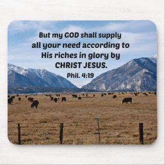Mousepad 4:19 dos Philippians