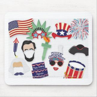 Mousepad 4o do feriado de julho - Dia da Independência