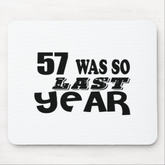 Mousepad 57 era assim tão no ano passado o design do