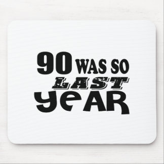 Mousepad 90 era assim tão no ano passado o design do