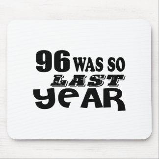 Mousepad 96 era assim tão no ano passado o design do