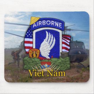 Mousepad a 173rd brigada transportada por via aérea Vietnam