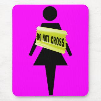 Mousepad A atitude das mulheres apenas para mulheres