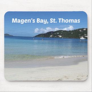 Mousepad A baía de Magen bonito, St Thomas