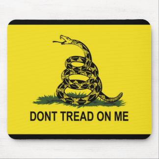 Mousepad A bandeira de Gadsden não pisa em mim