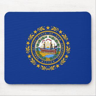 Mousepad A bandeira de New Hampshire