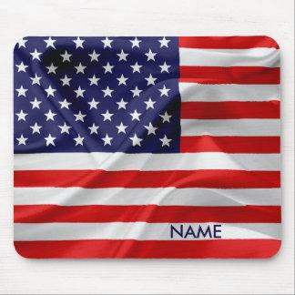 Mousepad A bandeira dos Estados Unidos da América