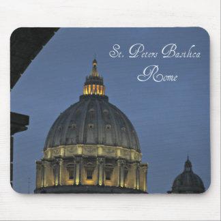 Mousepad A basílica de St Peter, Roma, Italia
