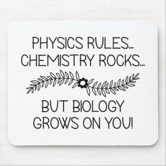 Mousepad A biologia cresce em você