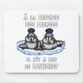 Mousepad À BRIGADA dos MORSE não há MANETA