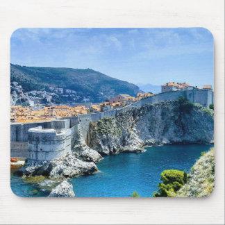 Mousepad A cidade velha de Dubrovnik