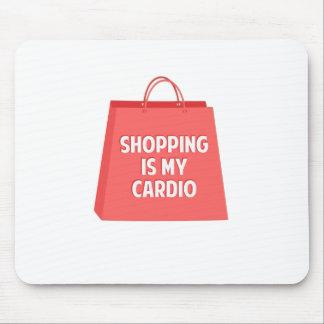 Mousepad A compra é meu cardio-