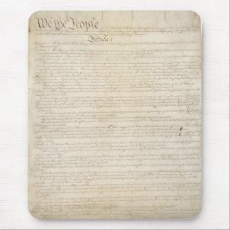 Mousepad A constituição de Estados Unidos